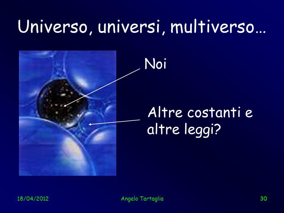 Universo, universi, multiverso…