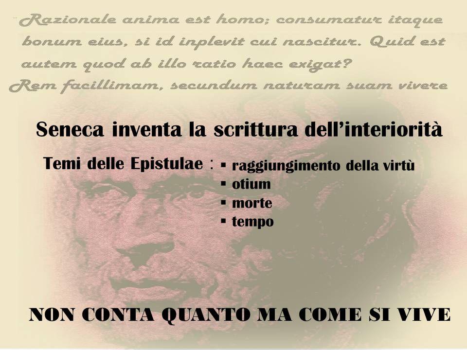 Seneca inventa la scrittura dell'interiorità