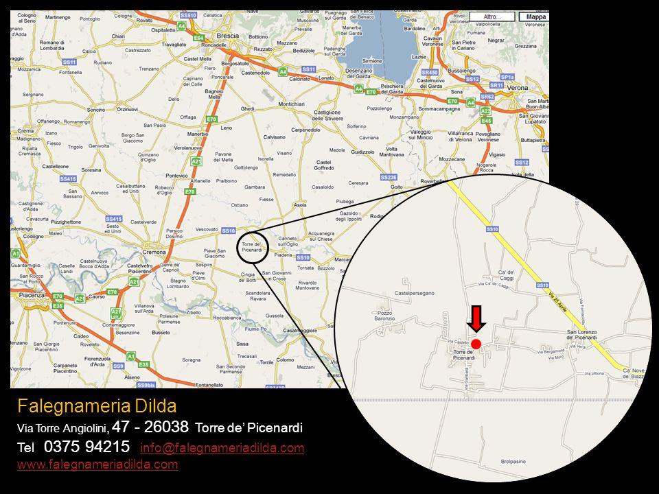Falegnameria Dilda Tel 0375 94215 info@falegnameriadilda.com