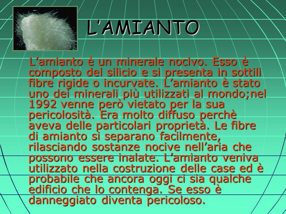 L'AMIANTO