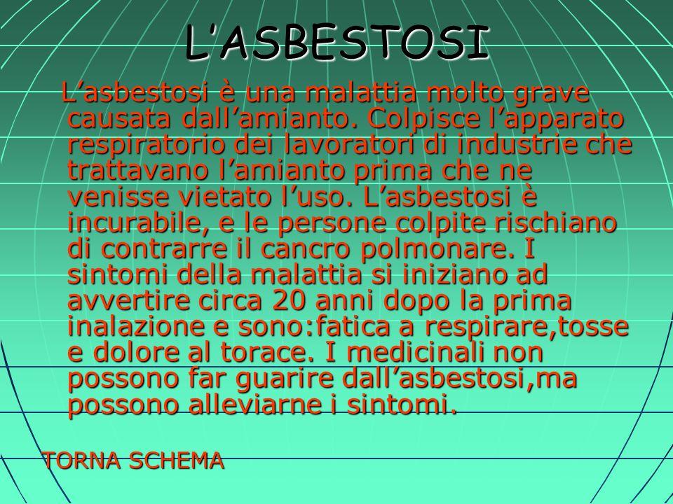 L'ASBESTOSI