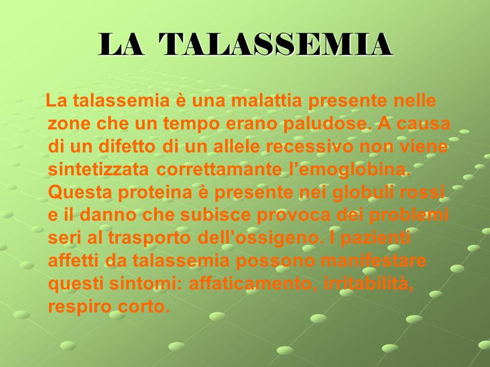 LA TALASSEMIA