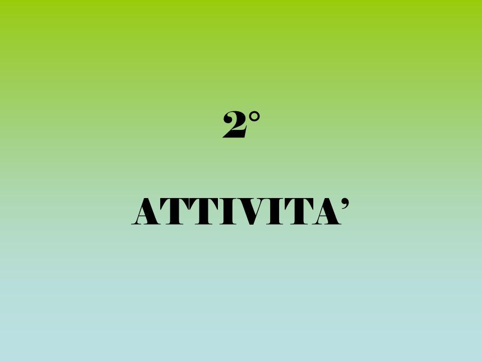 2° ATTIVITA'