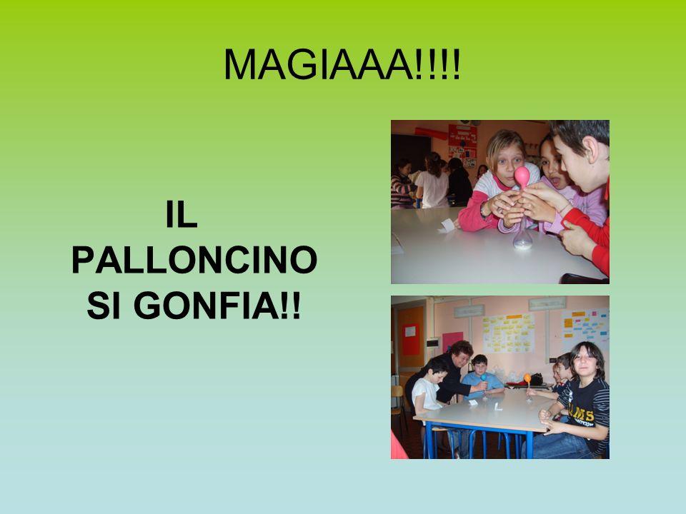 IL PALLONCINO SI GONFIA!!