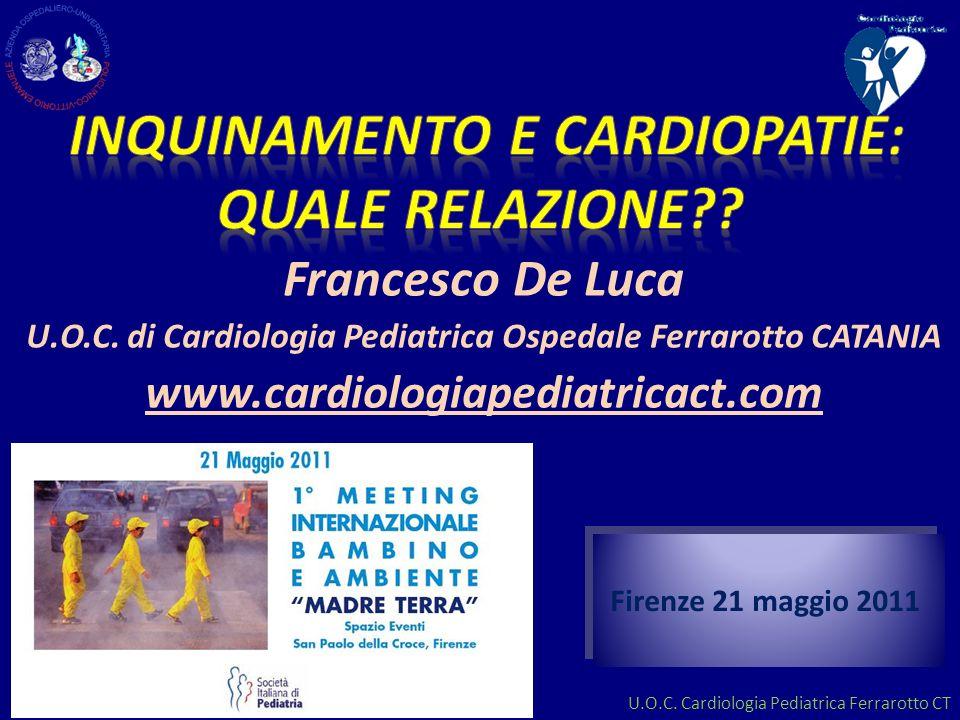 Inquinamento e cardiopatie: quale relazione