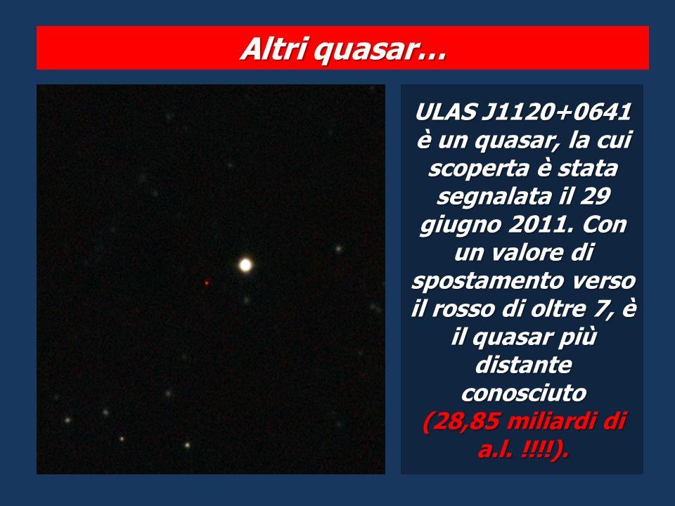 Altri quasar…