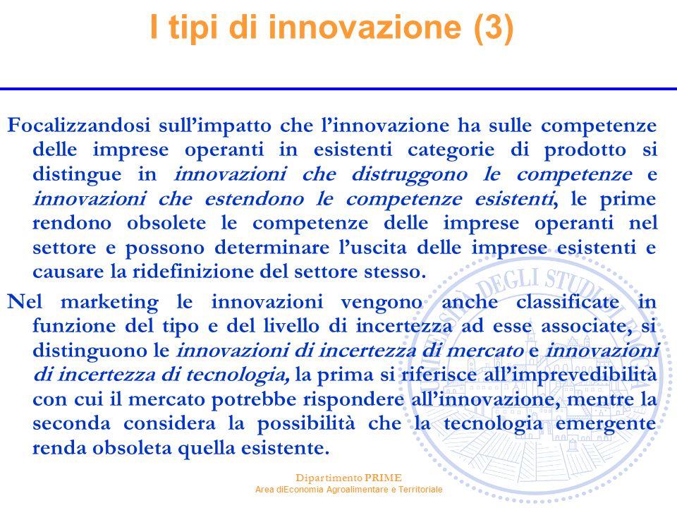 I tipi di innovazione (3)