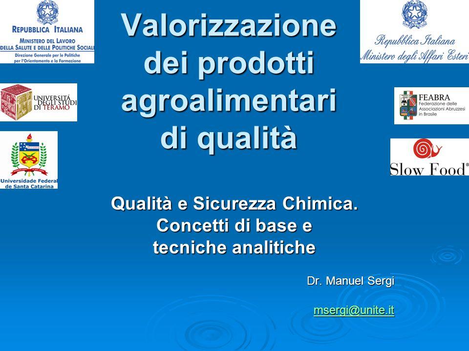 Valorizzazione dei prodotti agroalimentari di qualità