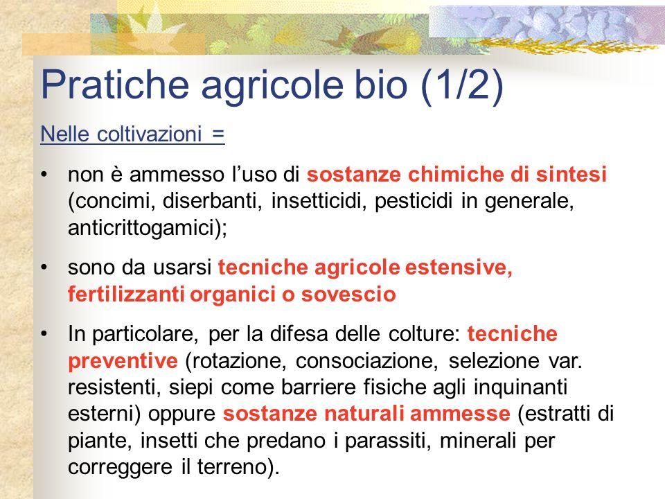 Pratiche agricole bio (1/2)