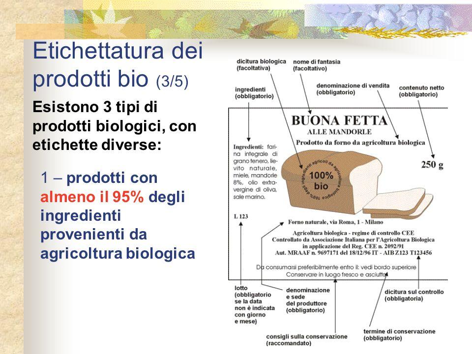 Etichettatura dei prodotti bio (3/5)