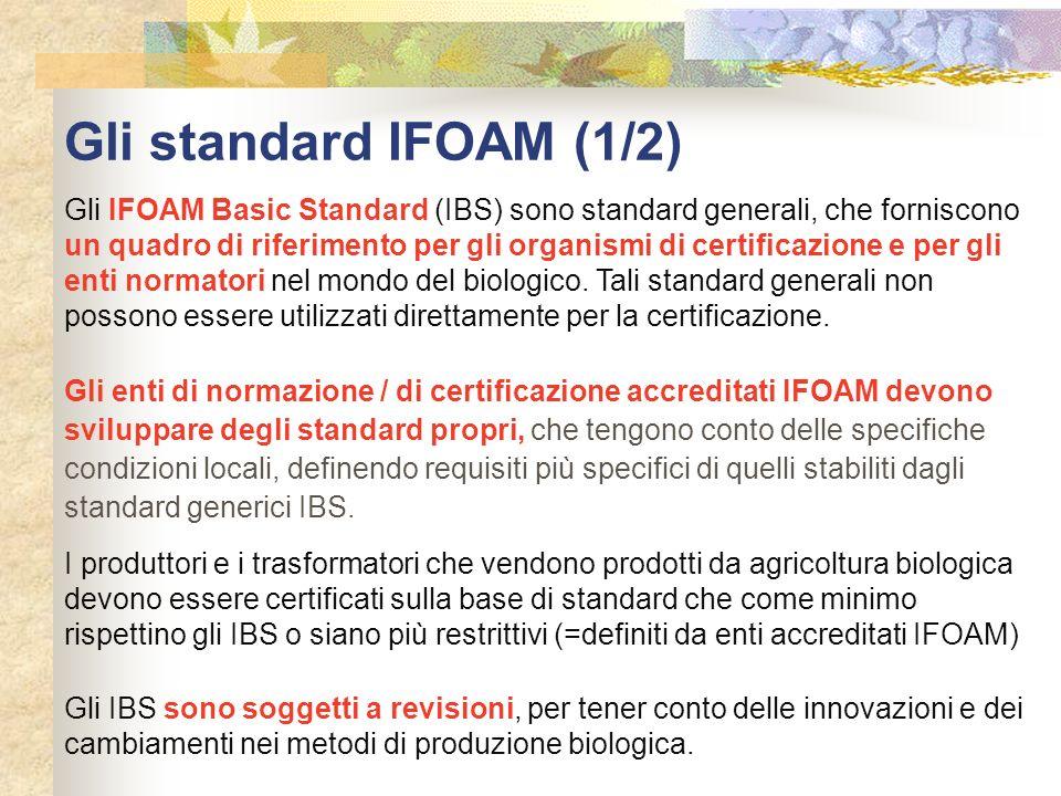 Gli standard IFOAM (1/2)