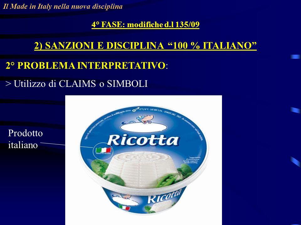 2) SANZIONI E DISCIPLINA 100 % ITALIANO
