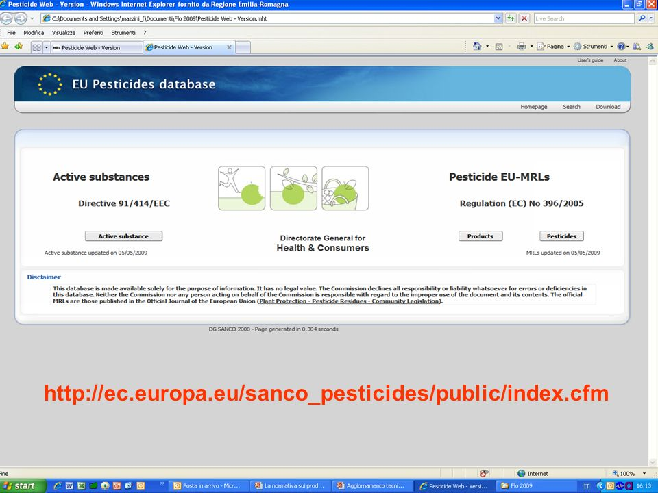 http://ec.europa.eu/sanco_pesticides/public/index.cfm