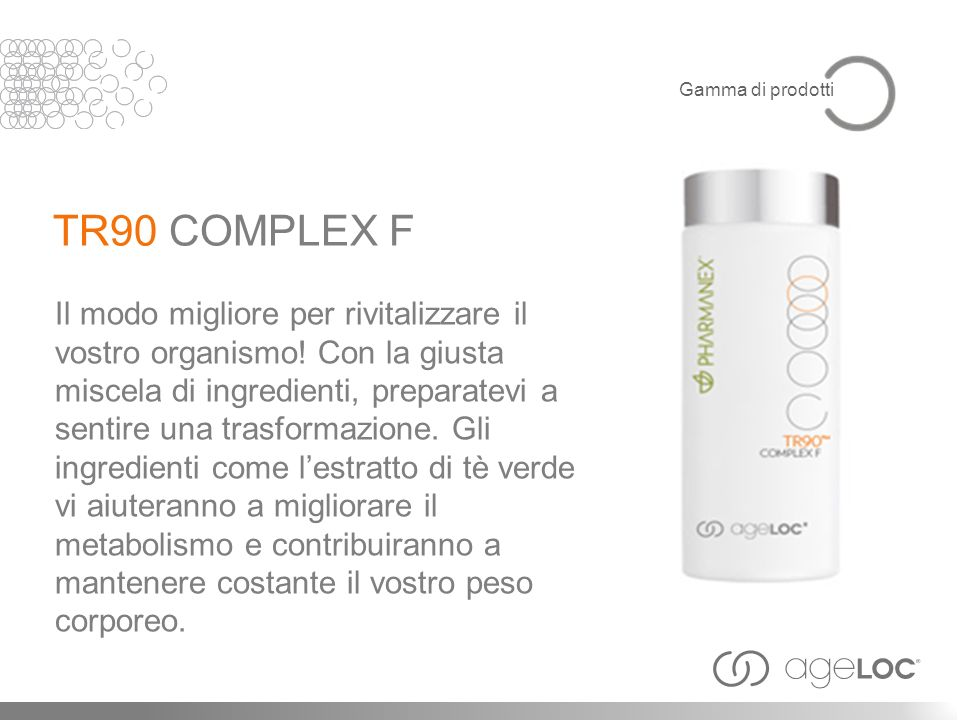 Gamma di prodotti TR90 COMPLEX F.