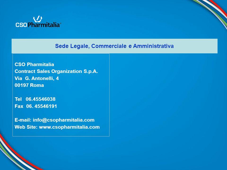 Sede Legale, Commerciale e Amministrativa