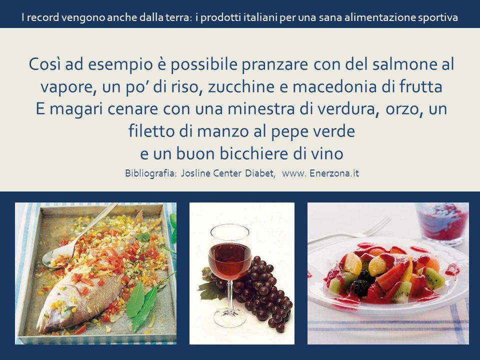 Bibliografia: Josline Center Diabet, www. Enerzona.it