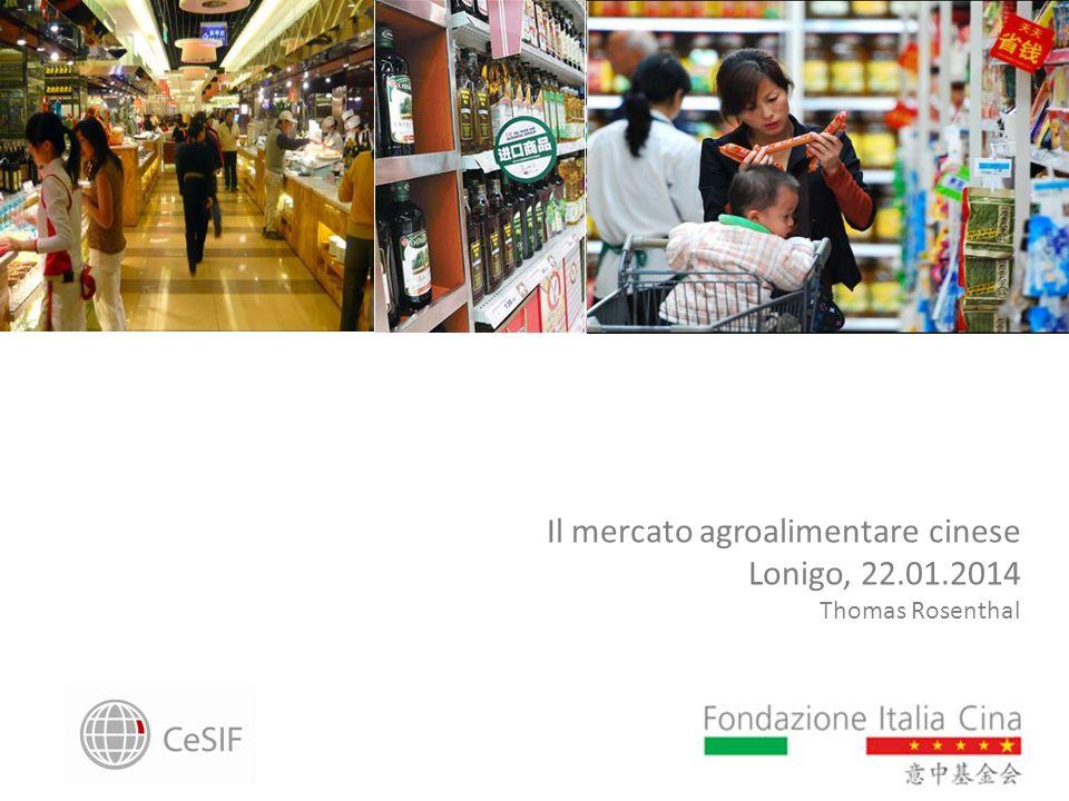 Il mercato agroalimentare cinese Lonigo, 22.01.2014