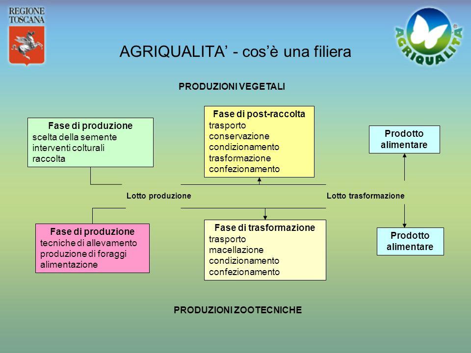AGRIQUALITA' - cos'è una filiera