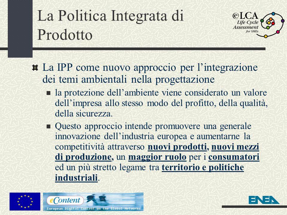 La Politica Integrata di Prodotto