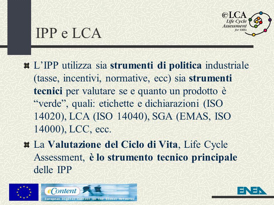 IPP e LCA
