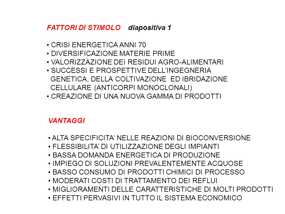 FATTORI DI STIMOLO diapositiva 1