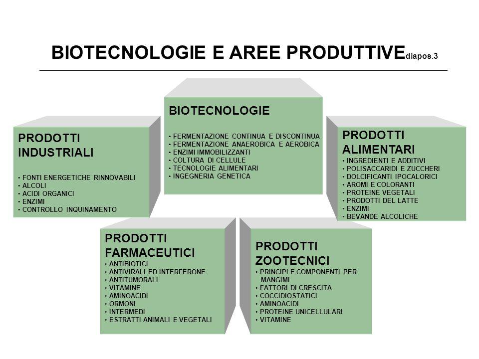 BIOTECNOLOGIE E AREE PRODUTTIVEdiapos.3