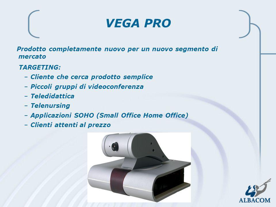 VEGA PRO Prodotto completamente nuovo per un nuovo segmento di mercato