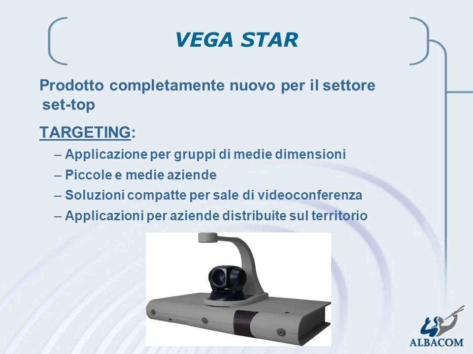 VEGA STAR Prodotto completamente nuovo per il settore set-top