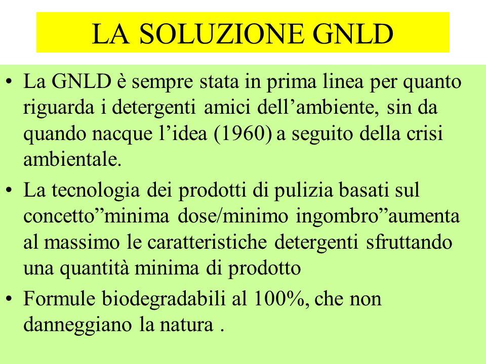 LA SOLUZIONE GNLD