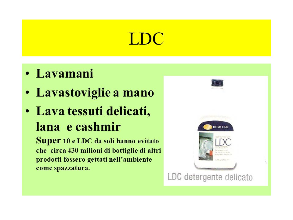 LDC Lavamani Lavastoviglie a mano