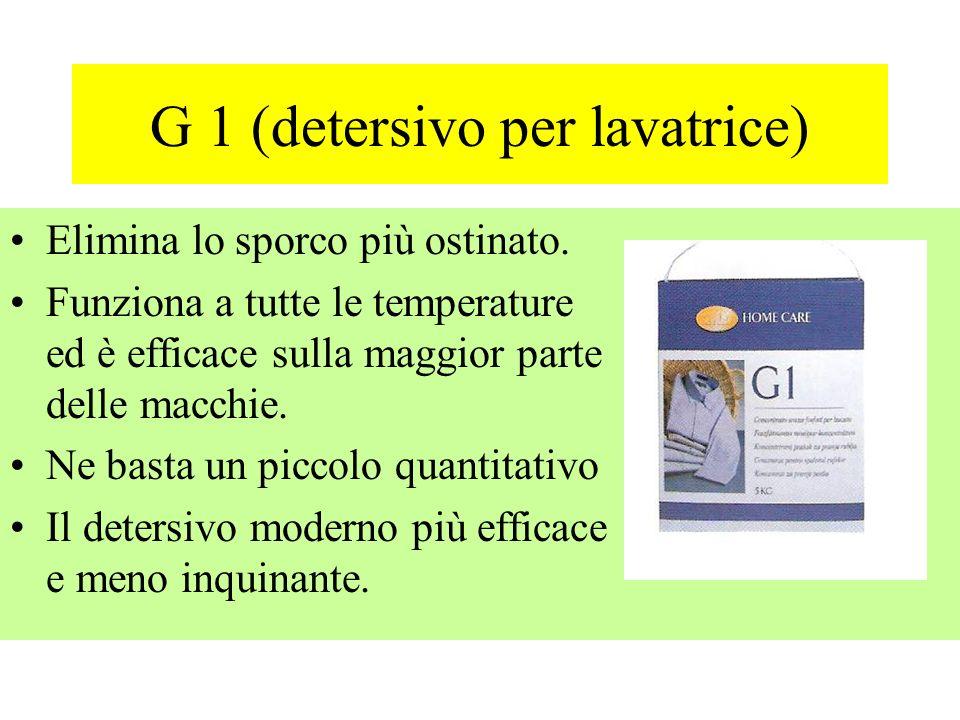 G 1 (detersivo per lavatrice)