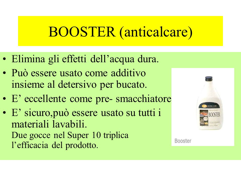 BOOSTER (anticalcare)