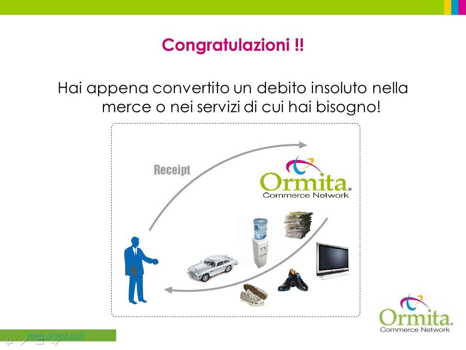 Congratulazioni !.