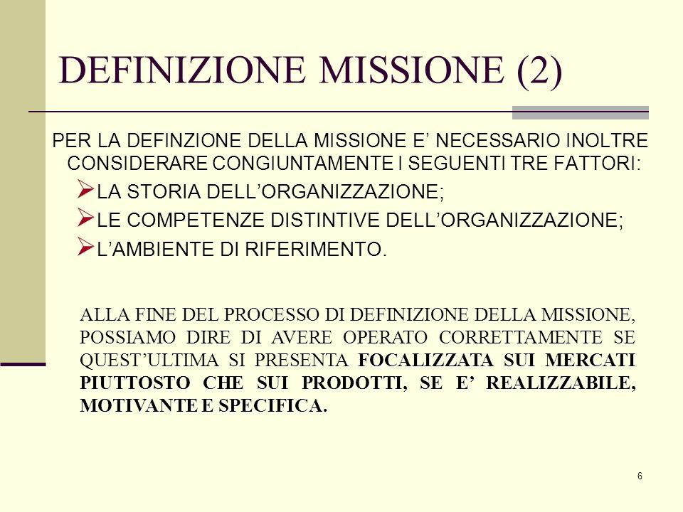 DEFINIZIONE MISSIONE (2)
