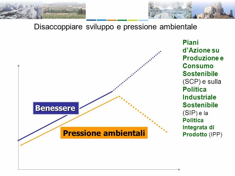 Disaccoppiare sviluppo e pressione ambientale