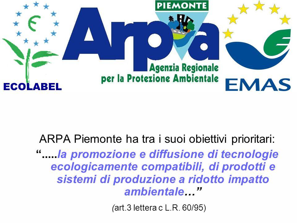 ARPA Piemonte ha tra i suoi obiettivi prioritari: