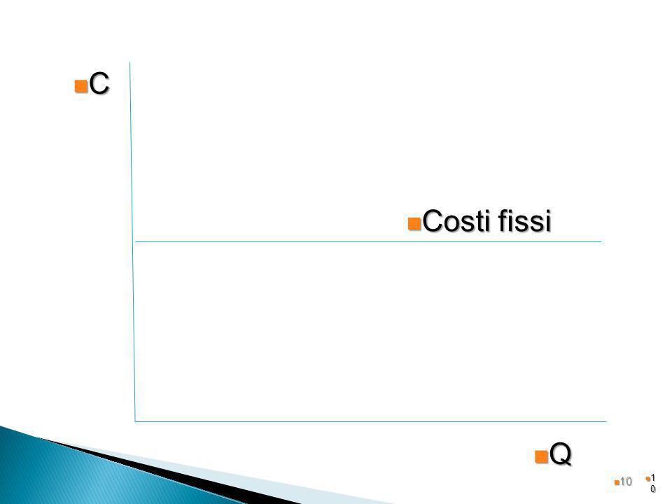 C Costi fissi Q 10