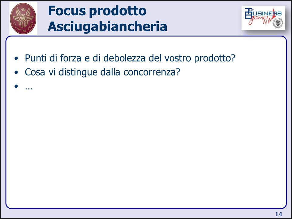 Focus prodotto Asciugabiancheria