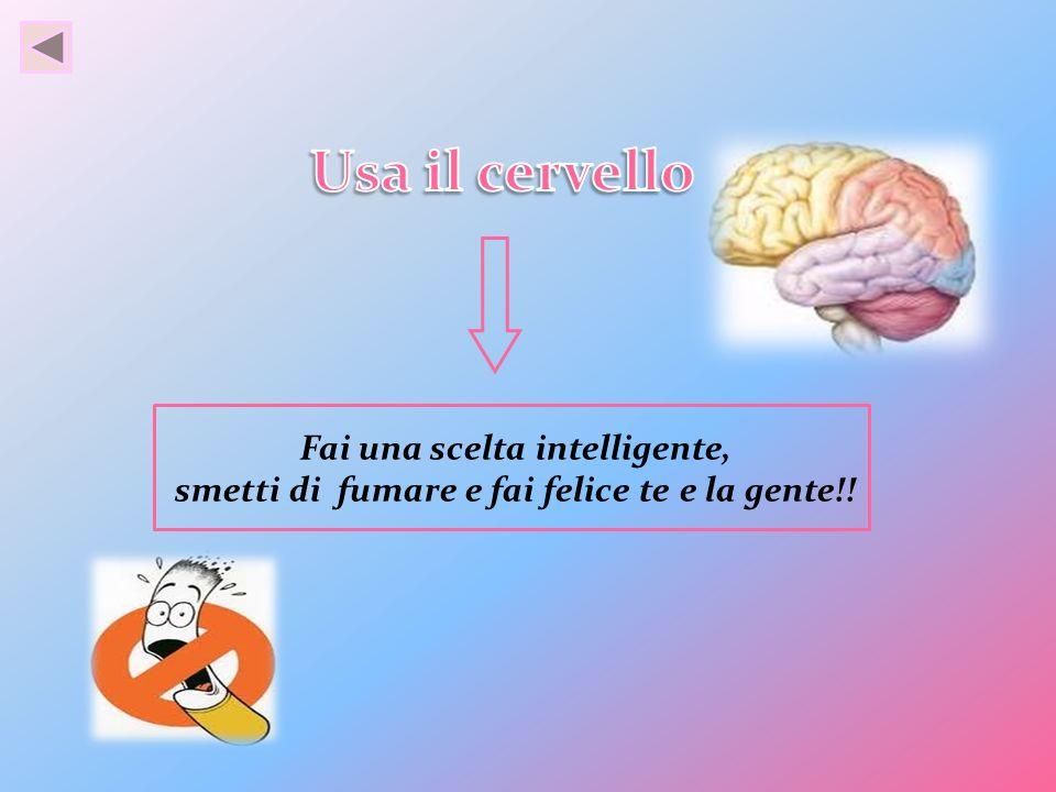 Usa il cervello Fai una scelta intelligente,