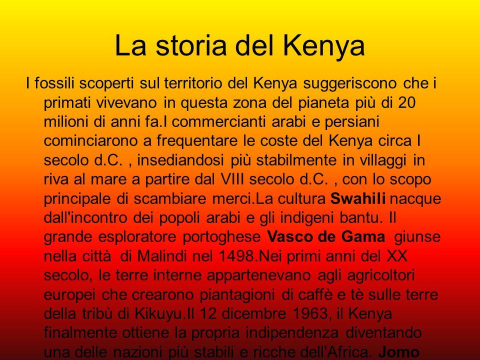 La storia del Kenya