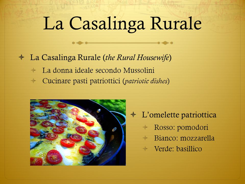 La Casalinga Rurale La Casalinga Rurale (the Rural Housewife)