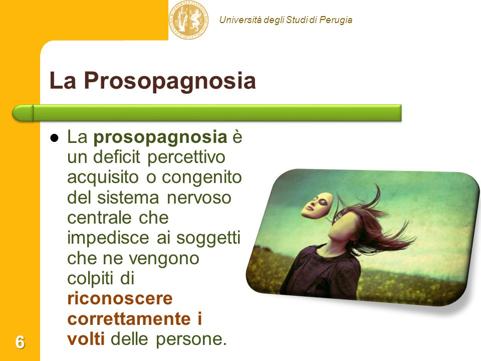 La Prosopagnosia