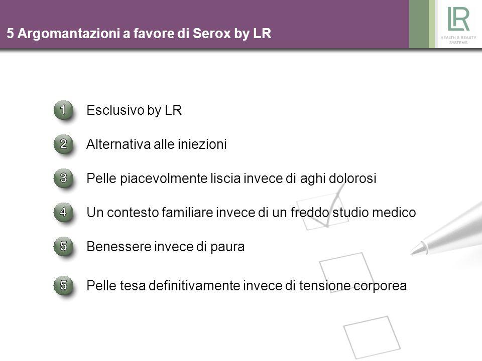 5 Argomantazioni a favore di Serox by LR