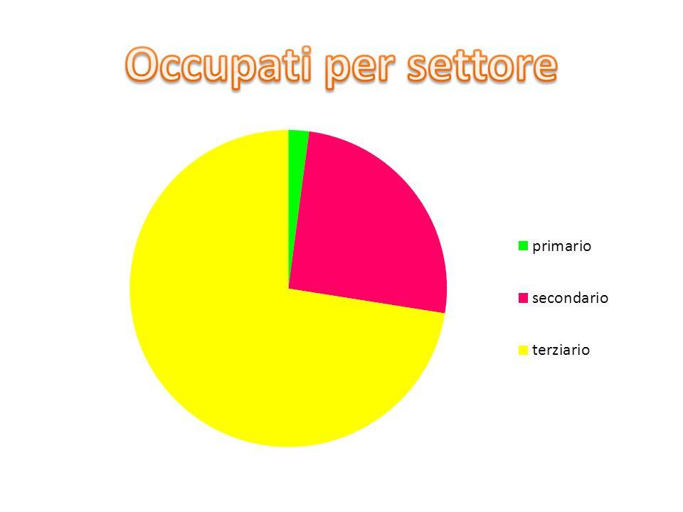 Occupati per settore