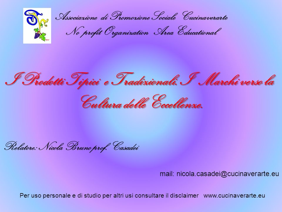 Associazione di Promozione Sociale Cucinaverarte
