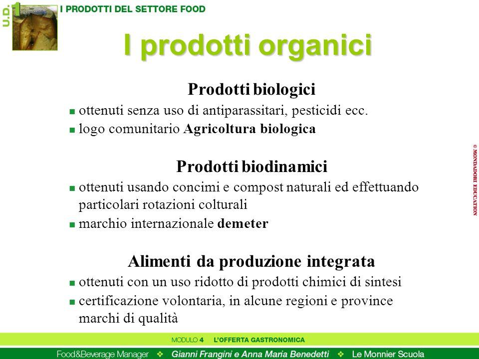 Alimenti da produzione integrata