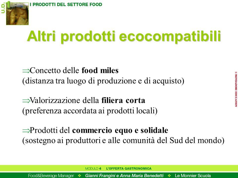 Altri prodotti ecocompatibili