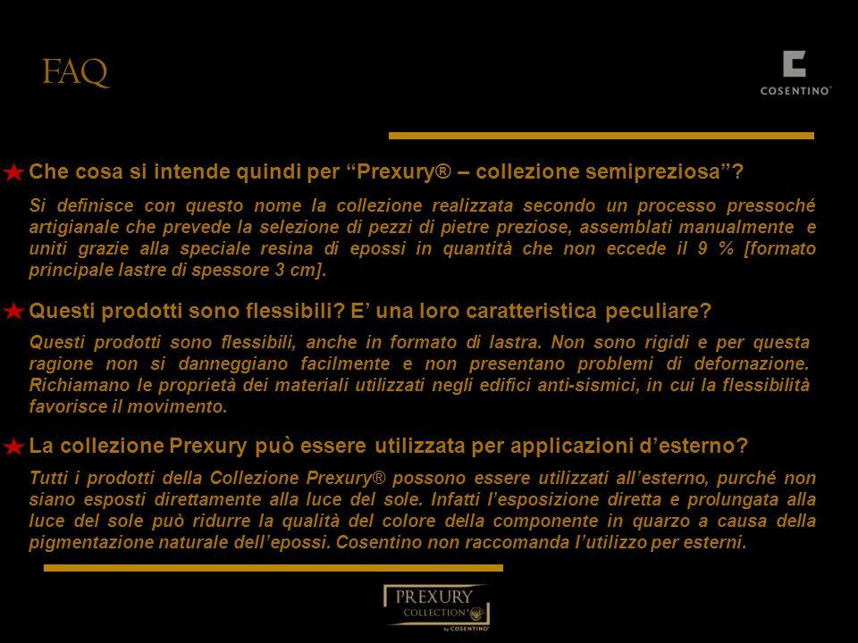 FAQ Che cosa si intende quindi per Prexury® – collezione semipreziosa
