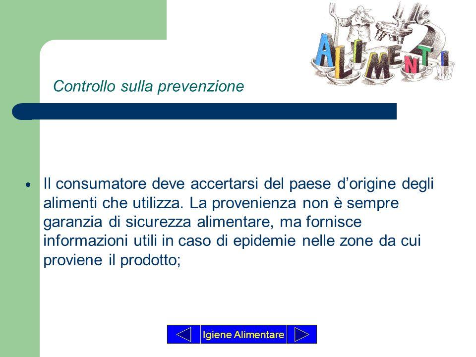 Controllo sulla prevenzione