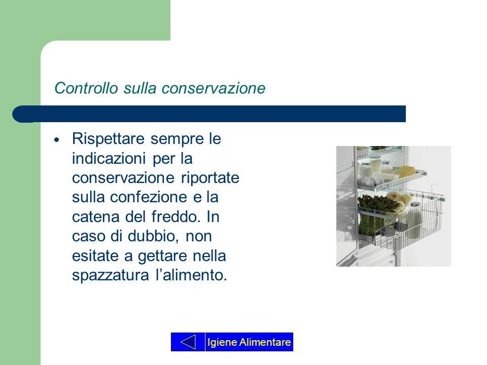 Controllo sulla conservazione